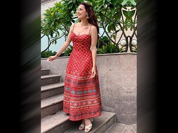 Dia Mirza dresses for the summer season