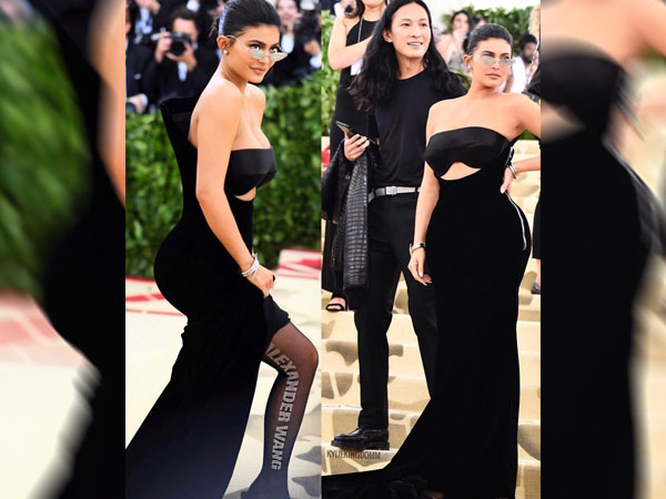 Kylie Jenner's Gown At Met Gala 2018