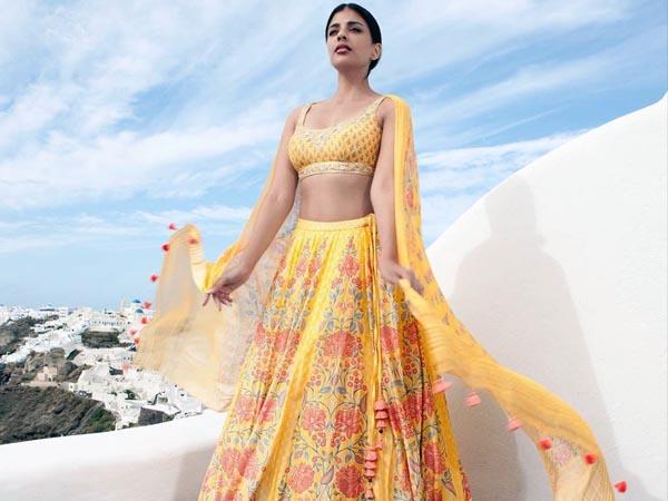 Yellow-Hued Wedding Wear