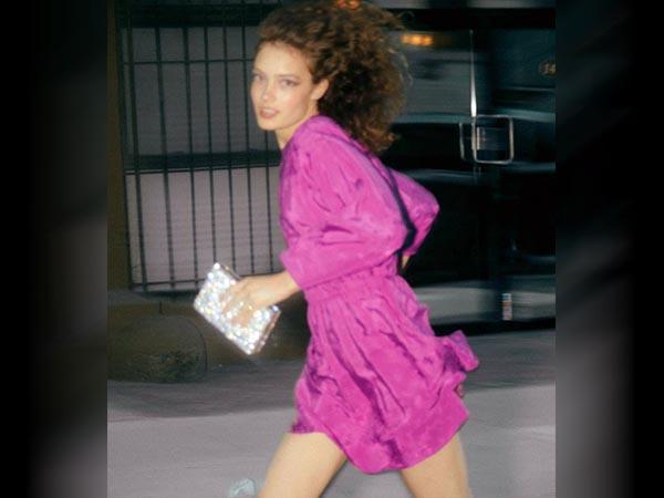 satin dress party wear for women