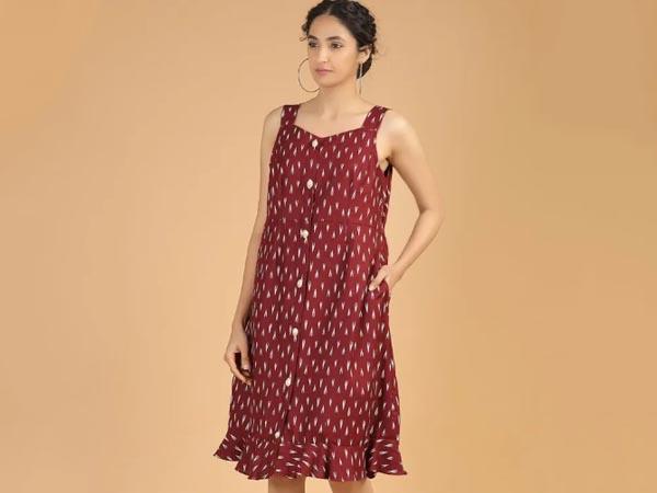 ikat dresses for teenage girls