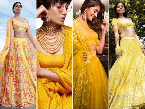 Top 4 Yellow Lehengas That Should Be In Your Bridal-wear Bucket List