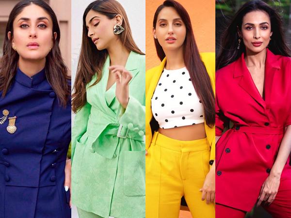 Divas Create Rainbow With Their Pantsuit