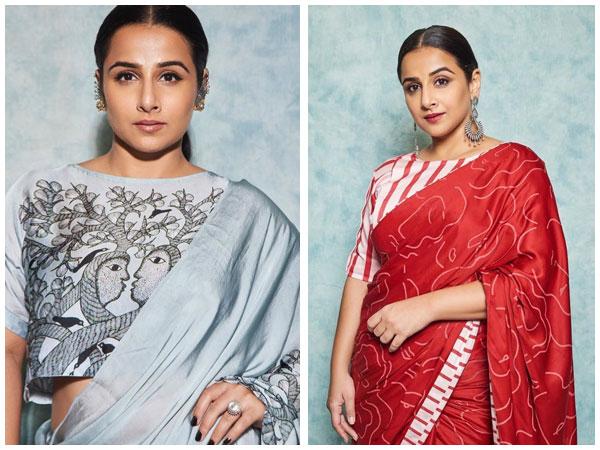 Vidya Balan In Beautiful Sarees