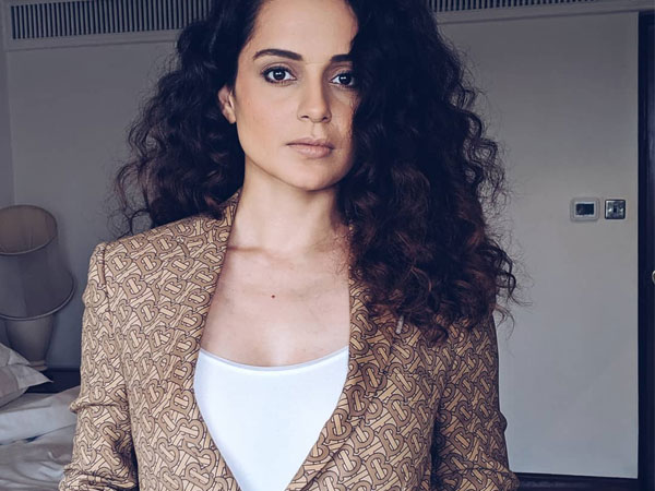 Kangana Ranaut Flaunts Classy Outfits As She Gives A Sneak Peek Of Her Office To A Magazine