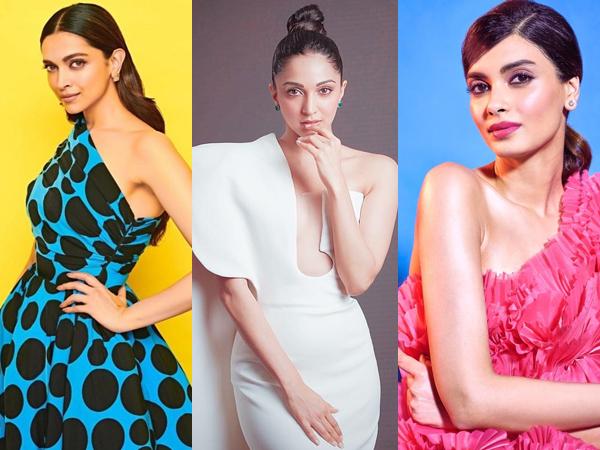 Deepika Padukone, Kiara Advani And Other B-Town Divas Make Fashionable Splash In One-Shoulder Gowns