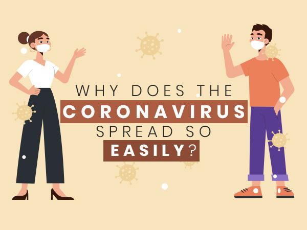 COVID-19 Virus Spreads Easily