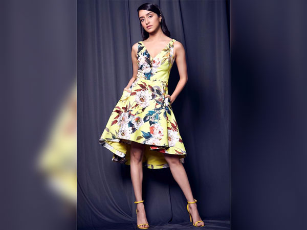 Shraddha Kapoor In A Yellow Floral Dress