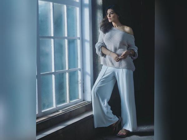 Sushmita Sen In An Off-Shoulder Top And Pants