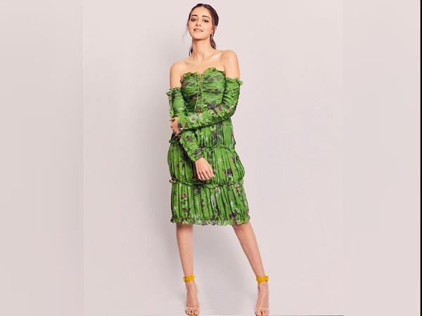 Ananya Pandays Strapless Dress