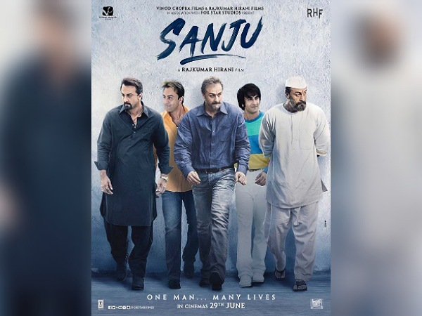 Ranbir Kapoor's Different Looks In Sanju