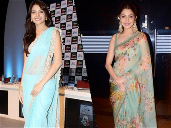 Anushka Sharma's Saree Fashion Game Has Become Stronger And More Sophisticated With Time