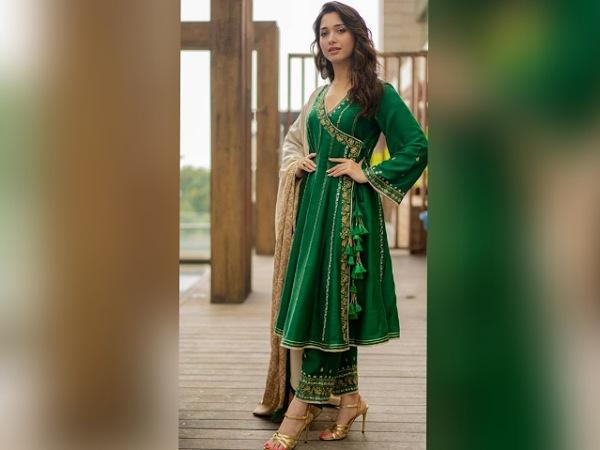 Tamannaah Bhatias Ethnic Suit