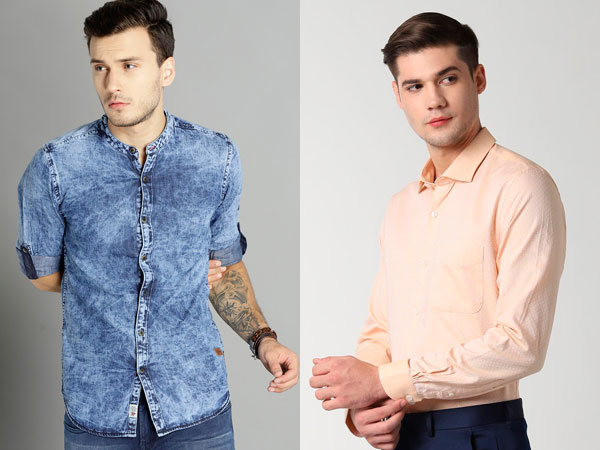 From Formals To Printed, 20 Shirts For Men To Pair With Blue Pant, Jeans, Or Trousers