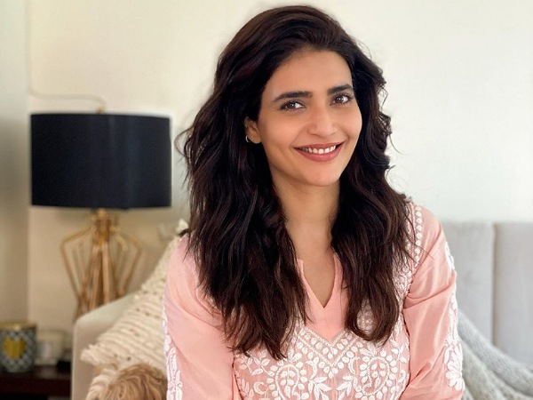 Karishma Tanna's Peach Ensemble Is Perfect For Festivals And Here Is How You Can Style It!