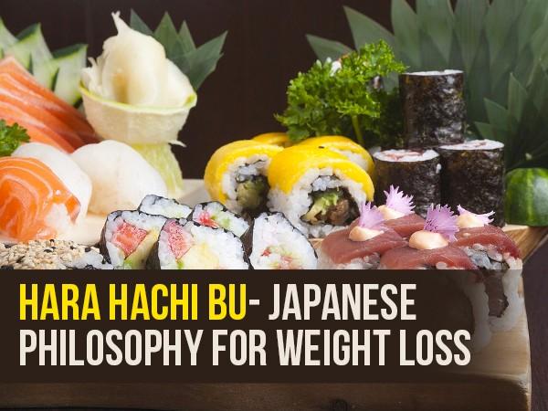 hara hachi bu pierdere în greutate