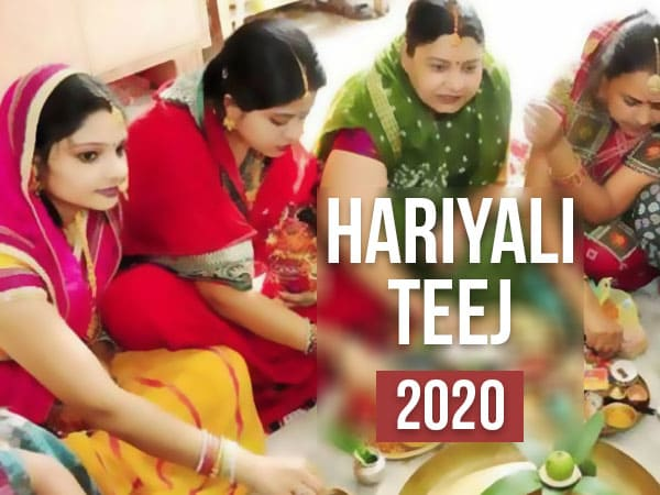 Date And Muhurta Of Hariyali Teej 2020