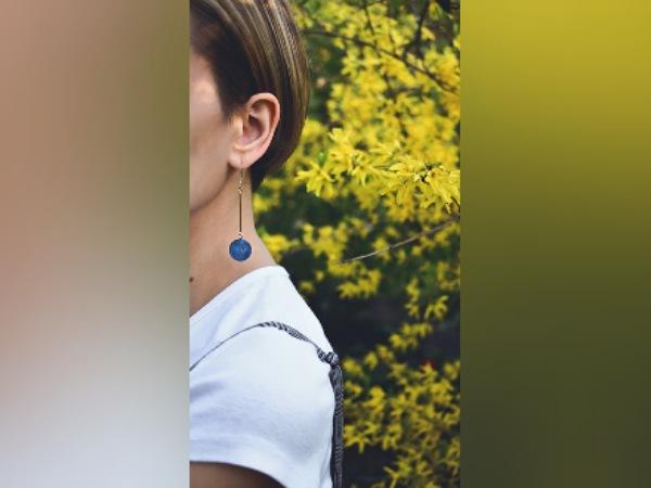 Tear Drop Earrings For Medium Hair