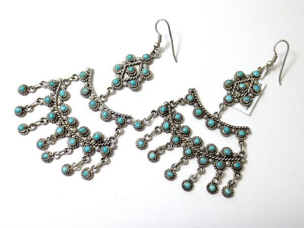 Chandelier Earrings for long hair