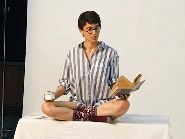 Kangana Ranaut's Pixie Cut And Striped Shirt Look Is What We Want To Try Right Away