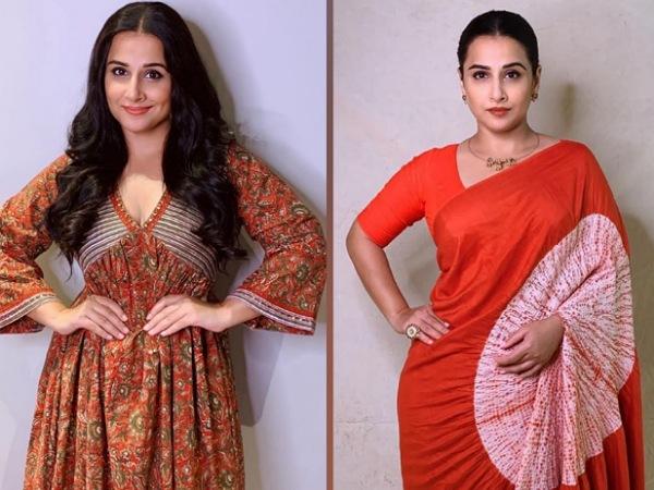 5 Best Ethnic Looks Of Vidya Balan From The E-Promotions Of Her Film Shakuntala Devi