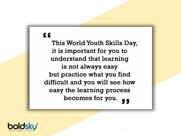 Quotes On World Youth Skills Day 2020