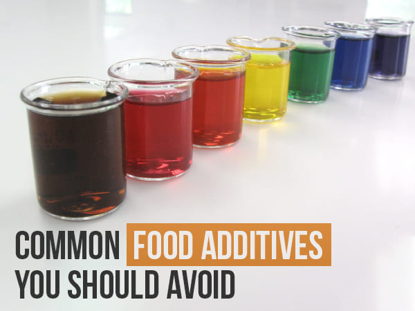 food additives harmful effects