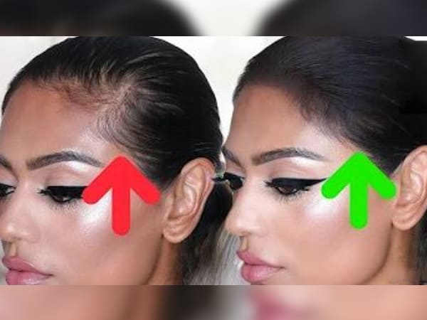 how to fake thicker hairline