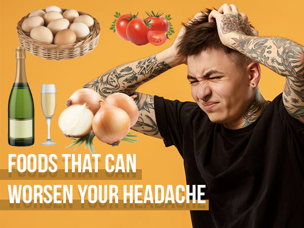 Alcohol, Coffee, Tea, Ice Cream, Eggs And Other Foods That Cause Headaches