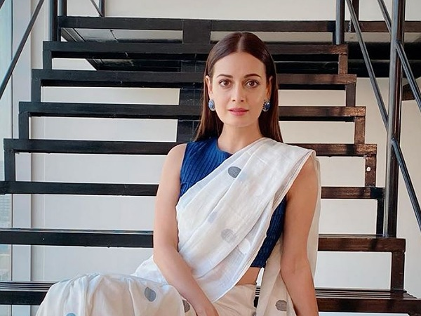 We Are Sure You Would Want To Bookmark Dia Mirza's Cotton Muslin Jamdani Saree