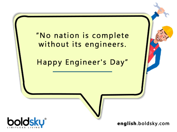 Quotes & Wishes On Engineer's Day 2020
