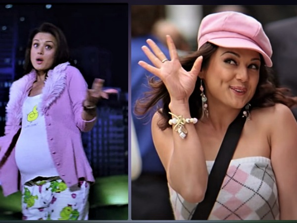 Preity Zinta's Looks In Salaam Namaste