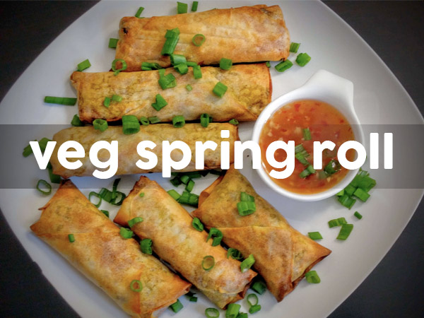 Veg Spring Roll Recipe
