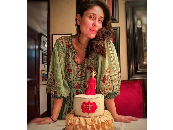 Kareena Kapoor In A Mint-Green Kaftan