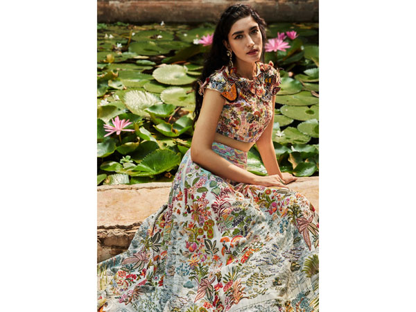 ICW 2020: Amid Pandemic, Rahul Mishra's Lotus Pond Collection Exudes A Soothing Effect