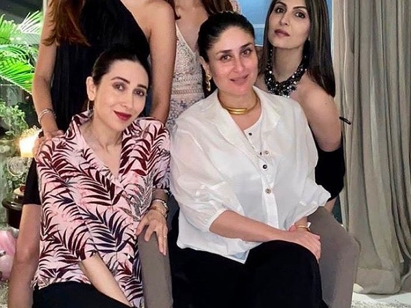 Kareena And Karisma Kapoor Slay It In Chic Outfits For Riddhima Kapoor's Birthday Bash