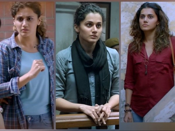 On 4 Years Of Pink, Taapse Pannu's Casual Shirts From The Social-Thriller Film Decoded