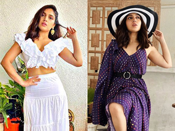 Bhumi Pednekar Stylishly Slays In White Separates And Purple Kaftan Dress And We're Impressed!