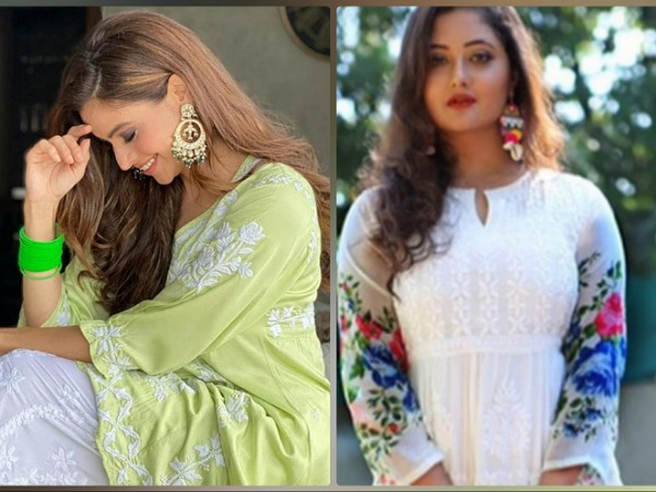 Rashami Desai Or Aamna Sharif, Whose Floral Kurti Will You Choose To Flaunt This Navaratri?