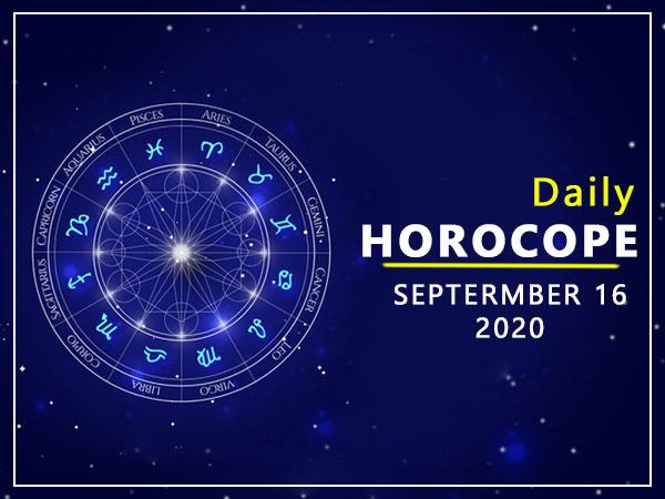 Daily Horoscope: 16 September 2020