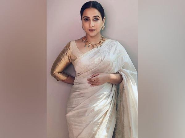Vidya Balan Teams Her Jamdani Saree With A Kanjivaram Blouse And We Absolutely Love This Pairing