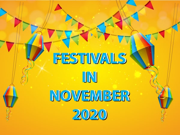November 2020: Important Festivals Falling In This Month
