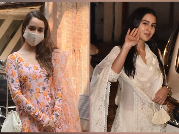 Shraddha Kapoor Or Sara Ali Khan, Whose Churidaar Suit Set Is More Gorgeous?