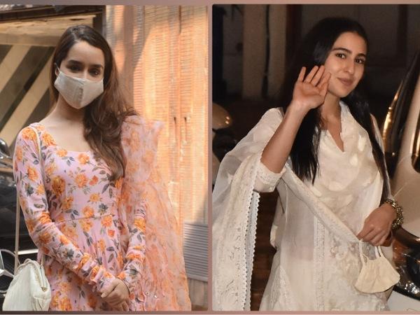 Shraddha Kapoor Or Sara Ali Khan, Whose Churidaar Suit Set Is More Gorgeous?