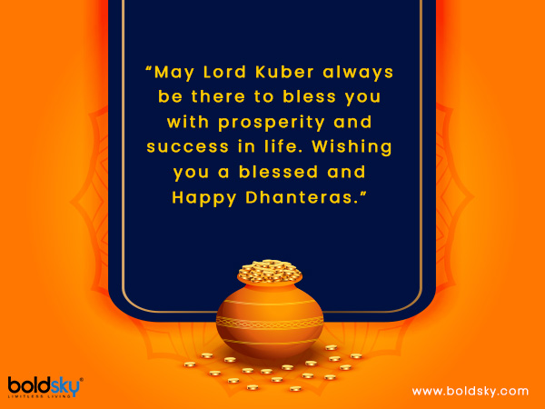 Quotes & Wishes To Share On Dhanteras