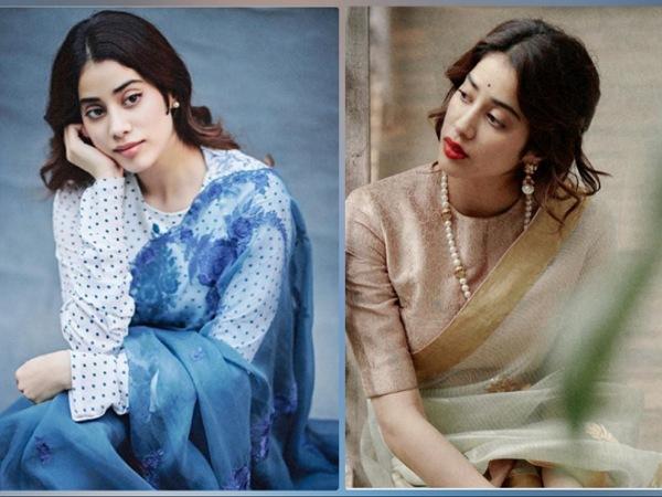 Janhvi Kapoor's Vintage Saree Looks On Instagram