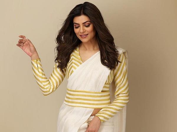 Happy Birthday Sushmita Sen: 4 Times The Diva Mesmerised Us With Her Elegant Yet Stylish Saree Looks
