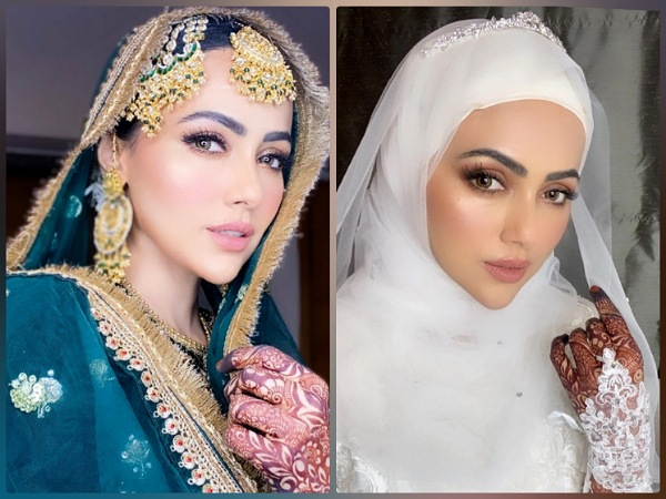 Newly Wed Sana Khan Flaunts Subtle As Well As Glamorous Make-Up, Which Look Of Hers Did You Like More?