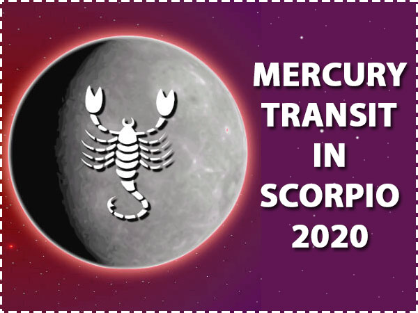 Mercury Transit In Scorpio 2020: How It Will Affect You