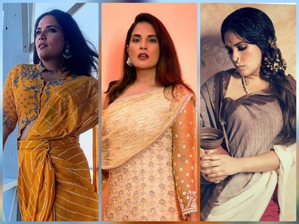 Shakeela Actress Richa Chadha's Ethnic Looks From Instagram On Her Birthday